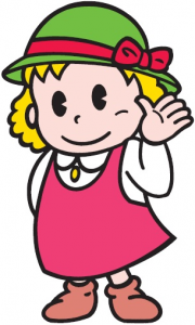 OMCキャラクター ルナちゃん